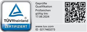 Frank Schwandt: TÜV-zertifzierter Fachberater für Cyber-Risiken.